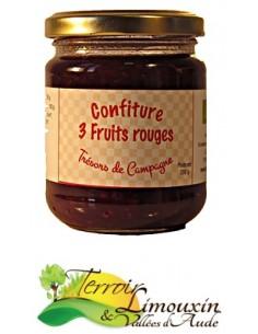 Confiture 3 Fruits Rouges