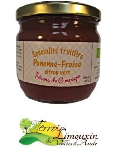 Spécialité fruitière Pomme Fraise