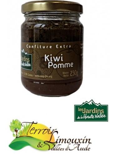 Confiture Kiwi Pomme 230g