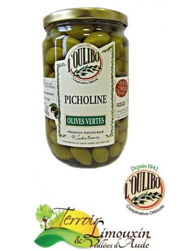 Picholine - Olives Vertes 200g