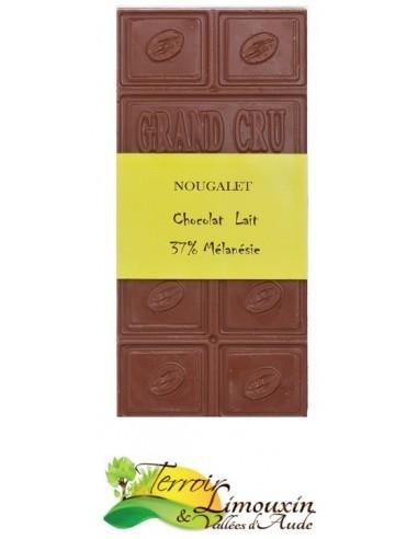 """Tablette de Chocolat au Lait """"Mélanésie"""""""