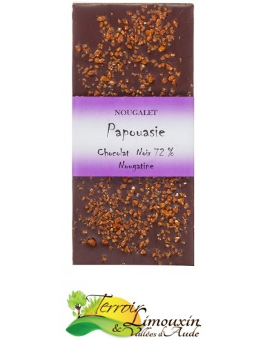 Chocolat Noir 72% Nougatine