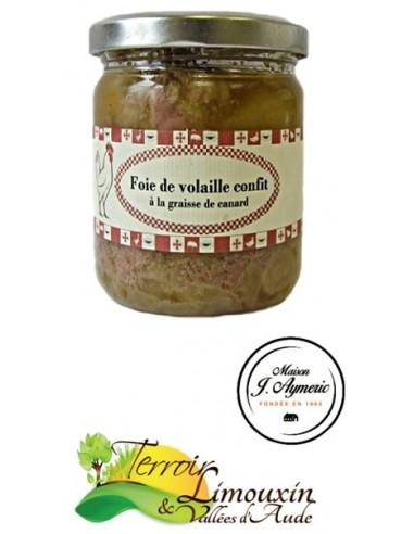 Foie de Volaille Confits 200g
