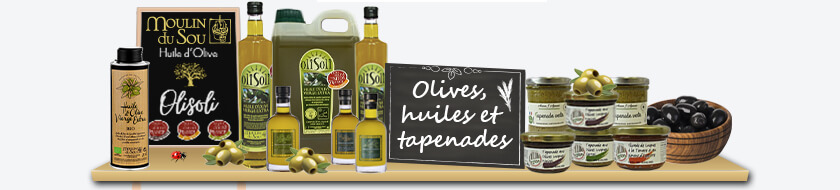 Olives, Huiles et Tapenade