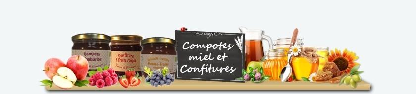 Compotes, Miel et Confitures