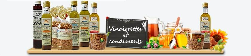 Assaisonnements et Condiments